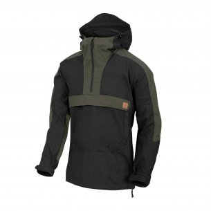Anorak WOODSMAN® Jacket - Black/Taiga Green