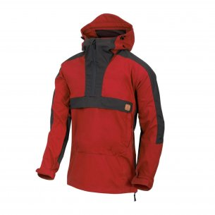Anorak WOODSMAN® Jacket - Crimson Sky / Ash Grey