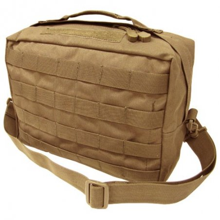 Utility Shoulder Bag (137-003) - Coyote / Tan