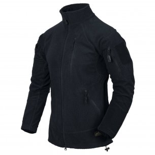 Helikon-Tex® ALPHA TACTICAL Jacke  - Gittervlies - Navy Blue