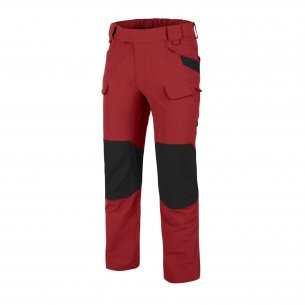 Helikon-Tex® OTP® (Outdoor Tactical Pants) Trousers / Pants - VersaStretch® - Crimson Sky / Black