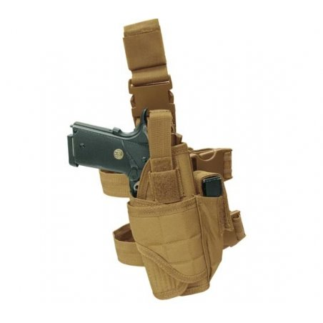 Tactical Leg Holster (TTLH-003) - Coyote / Tan