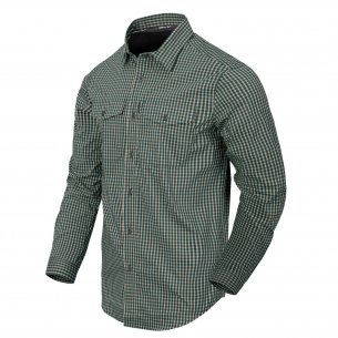 Helikon-Tex Covert Concealed Carry Hemd - Savage Green Checkered