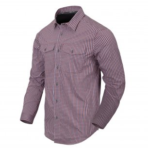 Helikon-Tex Covert Concealed Carry Shirt - Scarlet Flame Checkered
