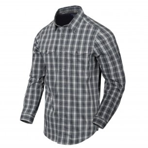 Helikon-Tex Covert Concealed Carry Shirt - Foggy Grey Plaid