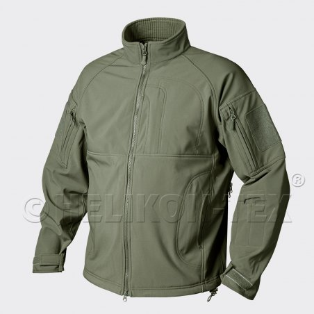 Bluza COMMANDER - Shark Skin - Olive Green
