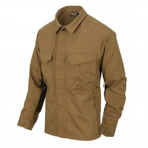 Helikon-Tex Koszula WOODSMAN Shirt - Coyote / Taiga Green