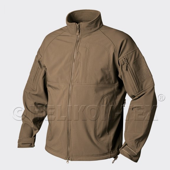 Helikon-Tex® COMMANDER Jacke - Shark Skin - Coyote / Tan