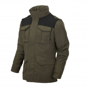 Helikon-Tex COVERT M65 Jacket - Taiga Green/Black