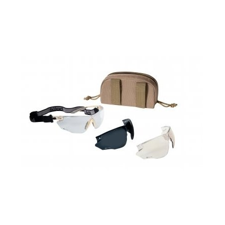 Bollé Tactical spectacles COMBAT ( COMBKITS ) - Sand Kit