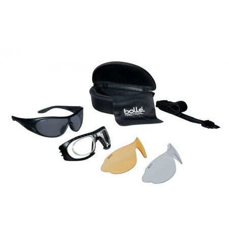 Tactical spectacles RAIDER ( RAIDERKIT ) - Black Kit