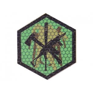 Combat-ID Velcro patch - Zombie Kill (ZK-GR) - Olive Green
