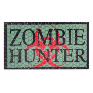 Combat-ID Velcro patch - Zombie Hunter (ZH-GR) - Olive Green