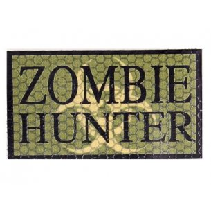 Combat-ID Velcro patch - Zombie Hunter (ZH-OD) - Olive Drab
