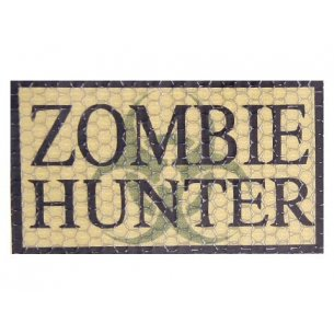 Combat-ID Velcro patch - Zombie Hunter (ZH-CT) - Coyote / Tan
