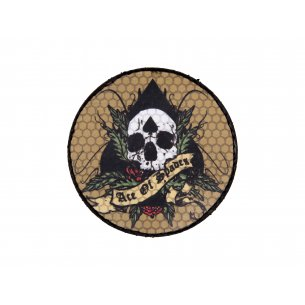 Combat-ID Velcro patch - Ace Of Spades Circle (ACECIRK)