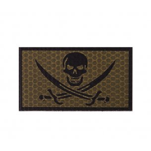 Combat-ID Velcro patch - Bad Calico Jack (BCJ-CB) - Coyote