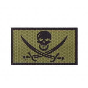 Combat-ID Velcro patch - Bad Calico Jack (BCJ-OD) - Olive Drab