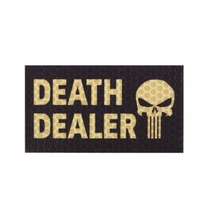 Combat-ID Velcro patch - Death Dealer Left (DD2L-BLK) - Black