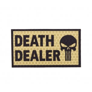 Combat-ID Velcro patch - Death Dealer Left (DD2L-TAN) - Desert