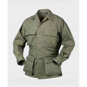 BDU (Battle Dress Uniform) Shirt - Ripstop - Olive Green