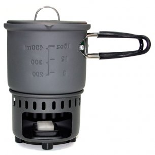 Esbit® Solid Fuel Cookset (CS585HA) - Aluminum - 585 ml