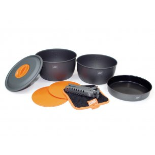 Esbit® Aluminum Cookware Set 3 Standard (CW2500HA)