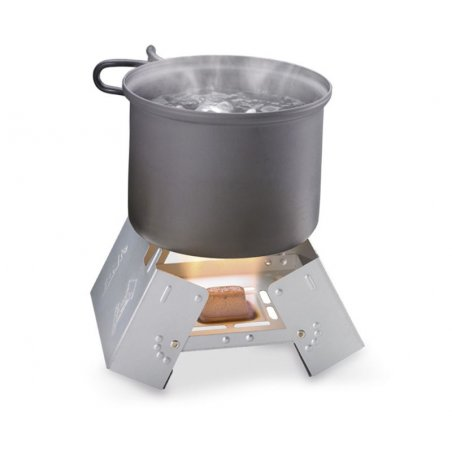 Esbit® Kuchenka Pocket Stove Large (00289000) 12 x 14g - Stal