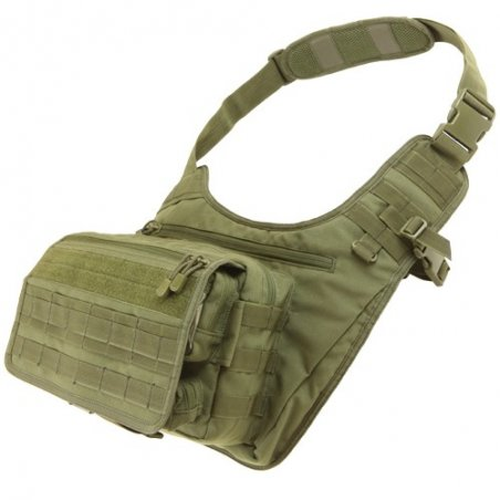Condor® Messenger Bag (146-001) - Olive Green