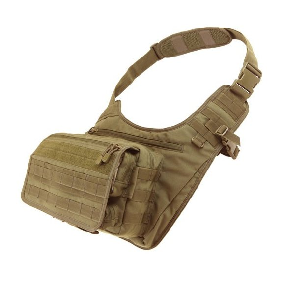 Condor® Torba Messenger Bag (146-003) - Coyote / Tan