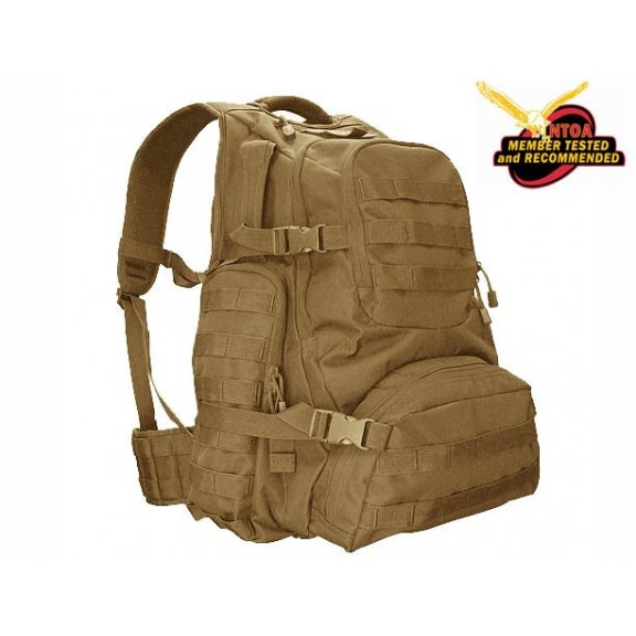 Backpack Urban Go Pack (147-003) - Coyote / Tan
