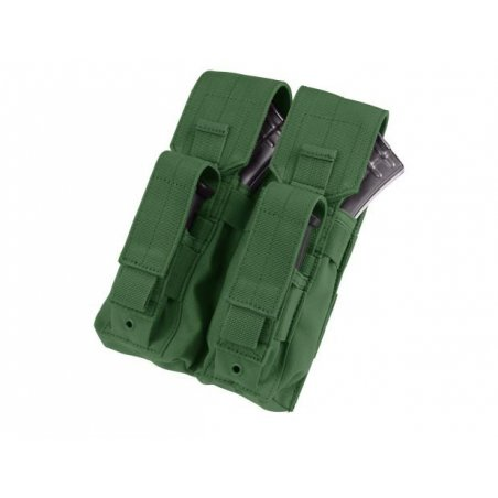 Condor® Ładownica molle Double AK Kangaroo Mag Pouch (MA71-001) - Olive Green