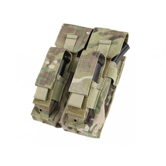 Ładownica molle Double AK Kangaroo Mag Pouch (MA71-008) - Multicam