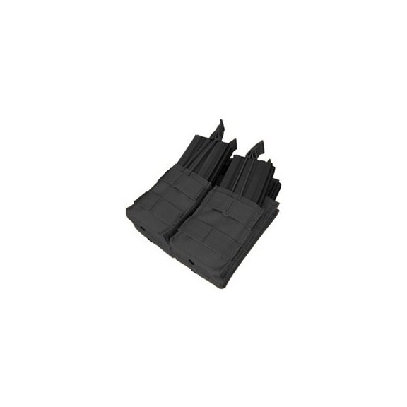 Double Stacker M4 Mag Pouch (MA43-002) - Black