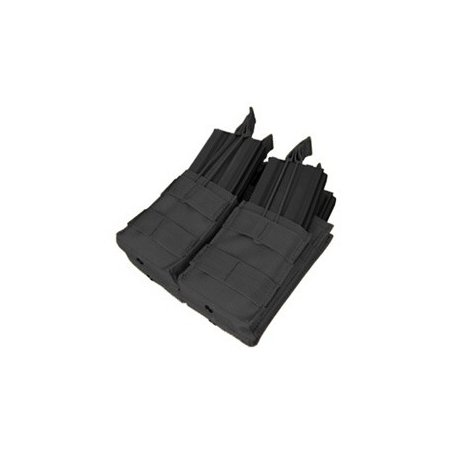 Condor® Ładownica molle Double Stacker M4 Mag Pouch (MA43-002) - Czarna