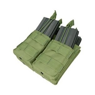 Condor® Double Stacker M4 Mag Pouch (MA43-001) - Olive Green