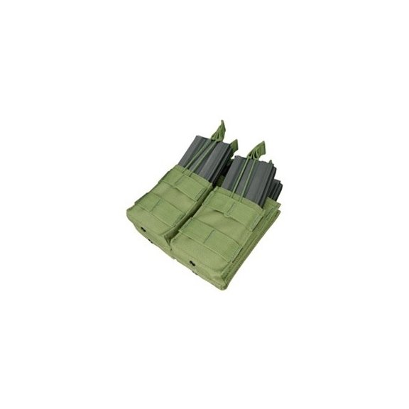 Ładownica molle Double Stacker M4 Mag Pouch (MA43-001) - Olive Green