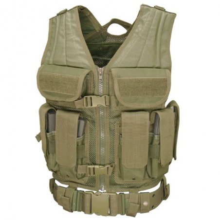 Elite Tactical Vest (ETV-001) - Olive Green