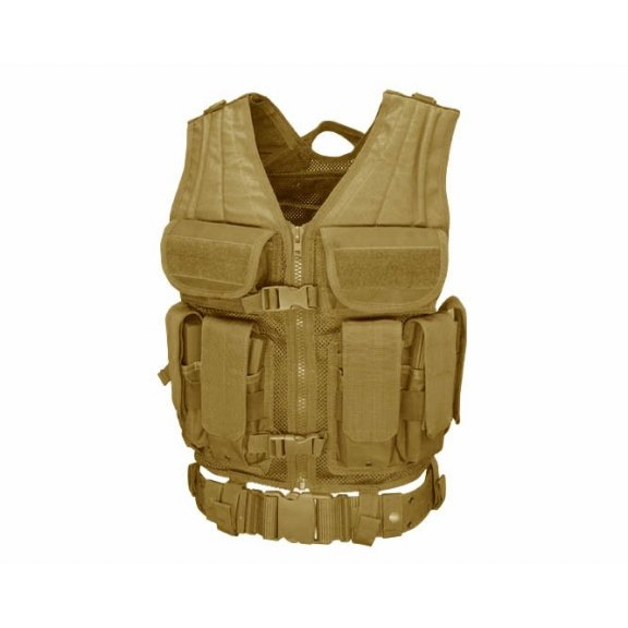 Elite Tactical Vest (ETV-003) - Coyote / Tan