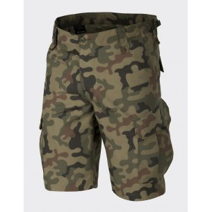 Helikon-Tex® CPU ™ (Combat Patrol Uniform) Shorts - Ripstop - PL Woodland
