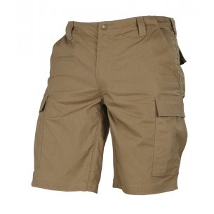 Pentagon BDU (Battle Dress Uniform) Shorts - Ripstop - Coyote / Tan