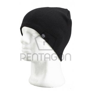 Pentagon Knitted Wool Watch Cap - Black
