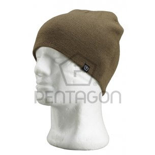 Pentagon Knitted Wool Watch Cap - Coyote / Tan