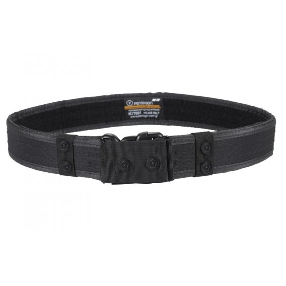 Pentagon Pas Tactical Police Belt - Czarny
