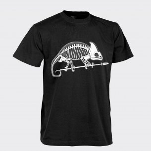CHAMELEON SKELETON Classic Army T-shirt - Cotton - Black