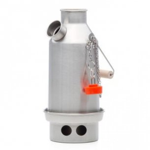 Kelly Kettle® Small 'Trekker' - Stainless Steel - 0