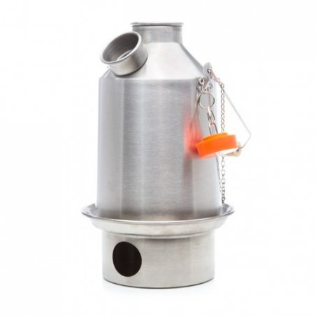Kelly Kettle® Medium 'Scout' - Stainless Steel - 1
