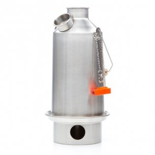 Kelly Kettle® Large 'Base Camp' - Stainless Steel - 1