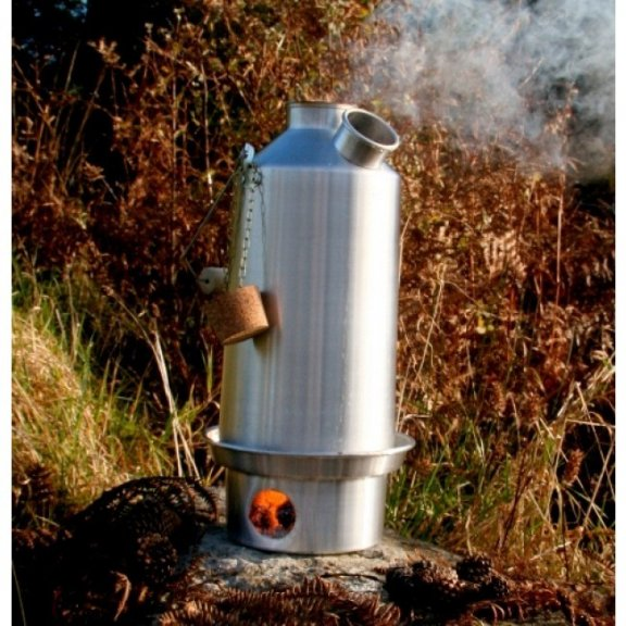 Kelly Kettle® Duży czajnik 'Base Camp' - Aluminium - 1