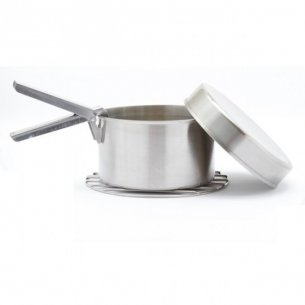 Kelly Kettle® Cook Set - Stainless Steel - Small for 'Trekker' Model